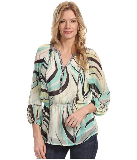 Tricouri Calvin Klein - Peasant Blouse - Key Line/Refresh Multi