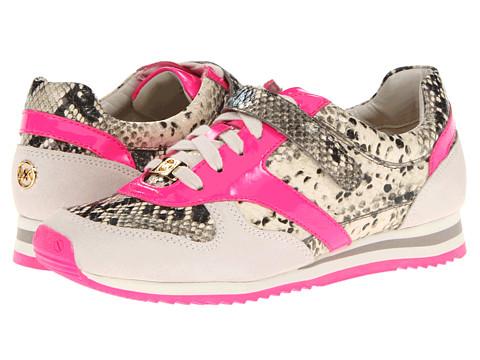 Adidasi Michael Kors - Alexandra Trainer - Neon Pink Patent/Pitone Naturale