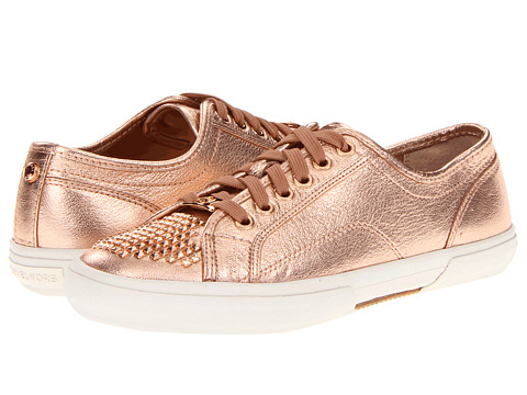 Adidasi Michael Kors - Boerum Studded Sneaker - Rose Gold Soft Metallic