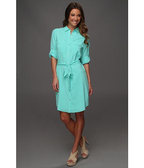 Rochii Calvin Klein - Splash Shirt Dress - Splash