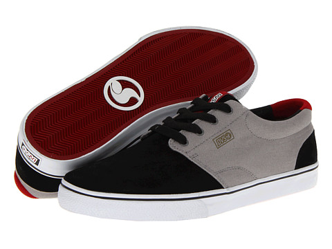 Adidasi DVS Shoe Company - Daewon 13 CT - Black/Grey Suede