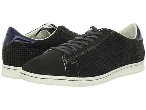 Adidasi Calvin Klein - Hart Suede/Leather - Dark Grey/Blue