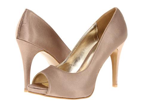 Pantofi rsvp - Macall Peep Toe - Champagne Satin