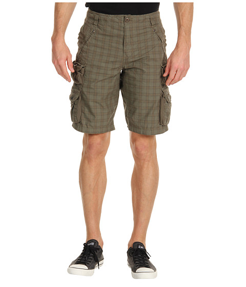 Pantaloni Alpha Industries - Decade Short - Olive Poplin