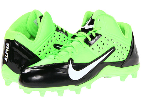 Adidasi Nike - Alpha Strike 3/4 TD - Black/Electric Green/White