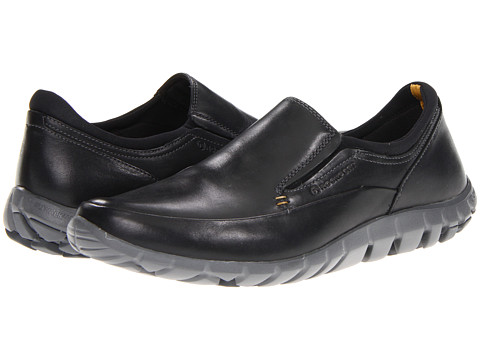 Pantofi Rockport - truWALKzero Slip-On - Black/Charcoal