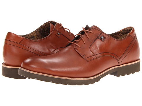Pantofi Rockport - Ledge Hill Plain Toe - British Tan