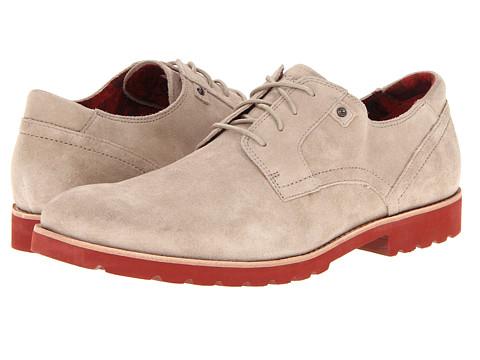 Pantofi Rockport - Ledge Hill Plain Toe - Rocksand Suede