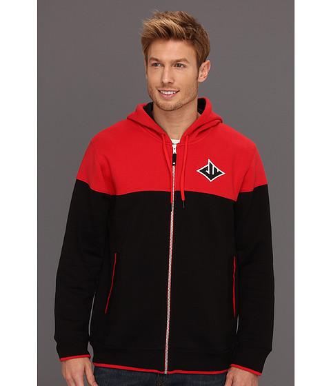 Bluze Reebok - John Wall Full Zip Hoody - Red/Black