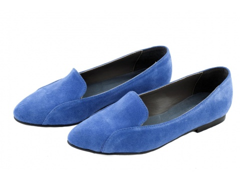 Pantofi Opincutze - Dom cerca - Albastru