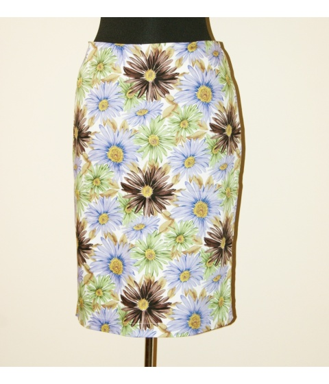 Fuste Monica Oranici - Fusta FS294 - Imprimeu Floral