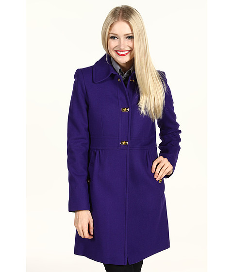 Jachete DKNY - Turn Key Baby Doll Coat - Purple
