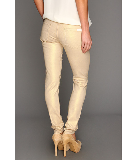 Blugi 7 For All Mankind - The Skinny in Sand Iridescent - Sand Iridescent