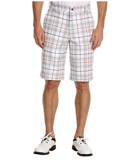 Pantaloni Nike - Nike Golf Plaid Short - Fiberglass/Tarp Green