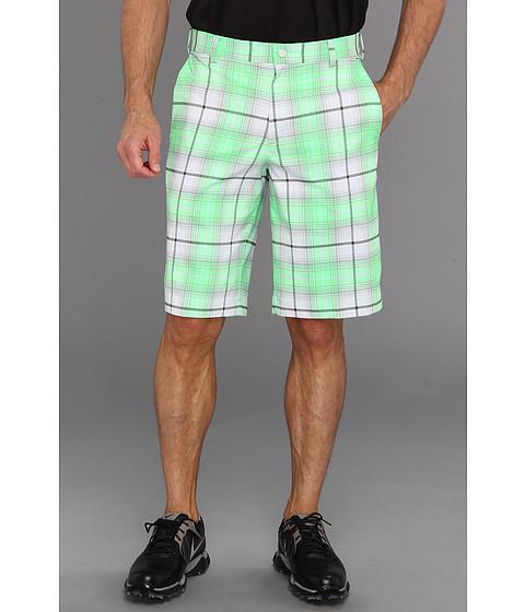 Pantaloni Nike - Nike Golf Plaid Short - Poison Green/Night Stadium