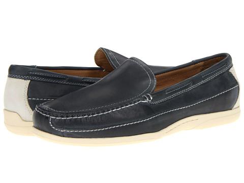 Pantofi Johnston & Murphy - Trevitt Venetian - Blue Full Grain