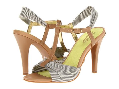 Pantofi Seychelles - Do What Ya Like - Grey Stripe