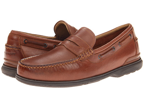 Pantofi Rockport - Off The Coast Penny Loafer - British Tan