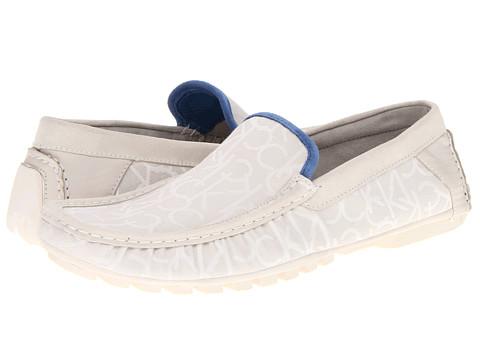 Pantofi Calvin Klein - Donnie - White/Blue