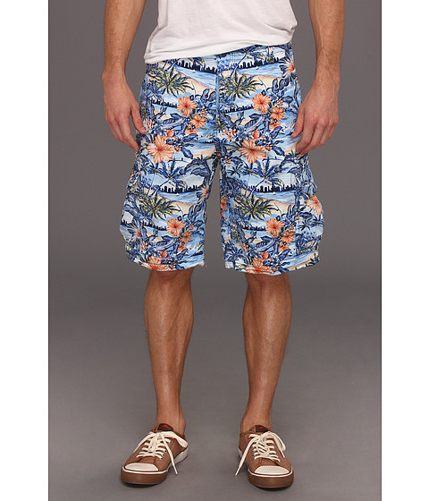 Pantaloni ECKO - Bermnuda Triangle Short - Deep Azure