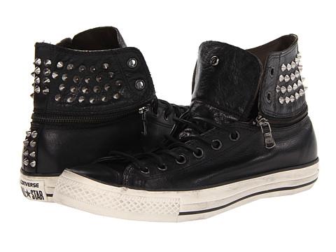 Adidasi Converse - Chuck Taylor All Star Zip Off Hi - Black/Turtledove