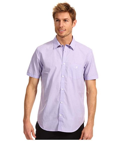 Tricouri Calvin Klein - S/S Yarn Dye Ombre Check Poplin Woven Shirt - Madras