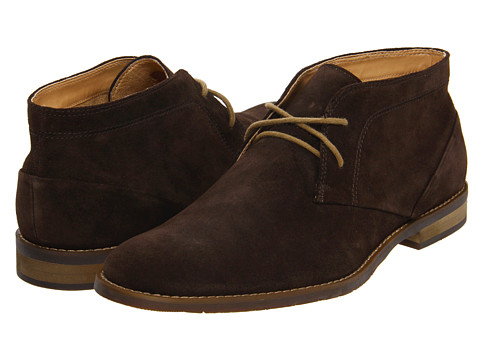 Ghete Calvin Klein - Wilson - Dark Brown Oiled Suede