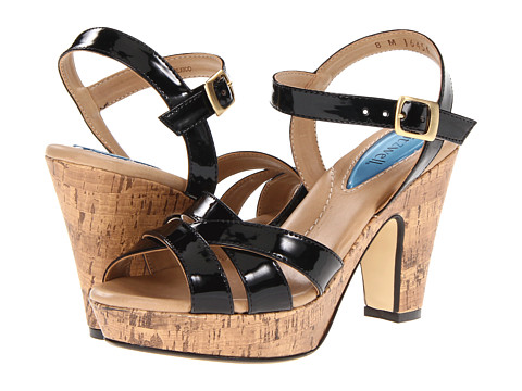 Pantofi Fitzwell - Michelle Sandal - Black Patent