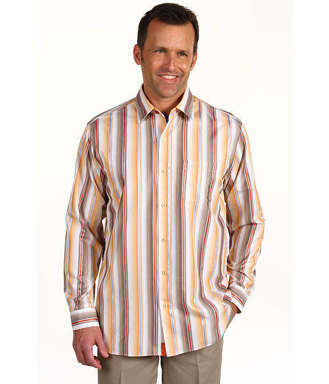 Camasi Tommy Bahama - Stripe Extraordinaire L/S Shirt - Bali Sunset