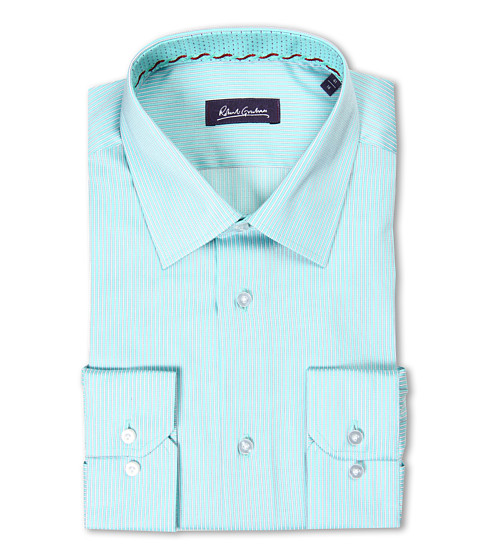 Camasi Robert Graham - Brad Dress Shirt - Teal