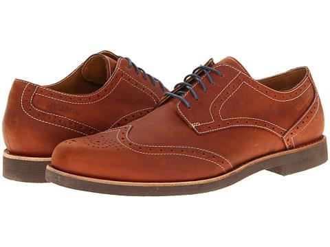 Pantofi Sebago - Thayer Wing Tip - Mahogany