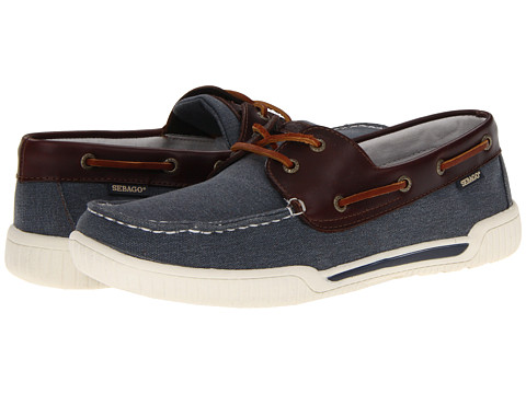 Pantofi Sebago - Stowaway - Navy/Dark Brown