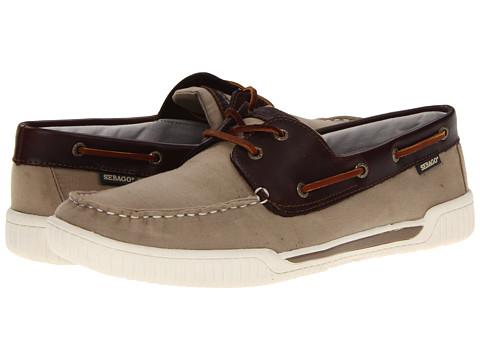 Pantofi Sebago - Stowaway - Tan/Dark Brown