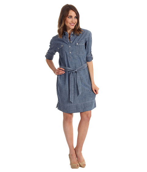 Rochii elegante: Rochie Tommy Bahama - Chambray Dress - Indigo