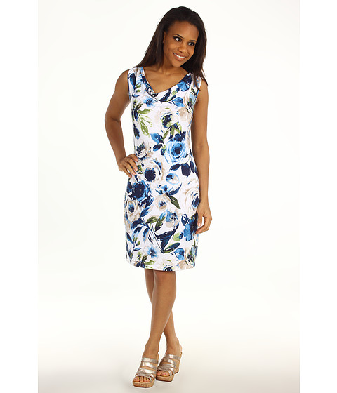 Rochii Tommy Bahama - Tinted Roses Dress - White