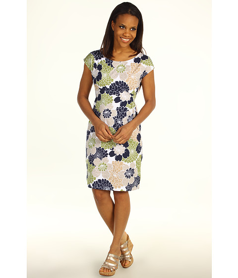 Rochii elegante: Rochie Tommy Bahama - Woodcut Mums Dress - Twill
