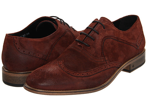 Pantofi John Varvatos - Richards Wing Tip - Redwood