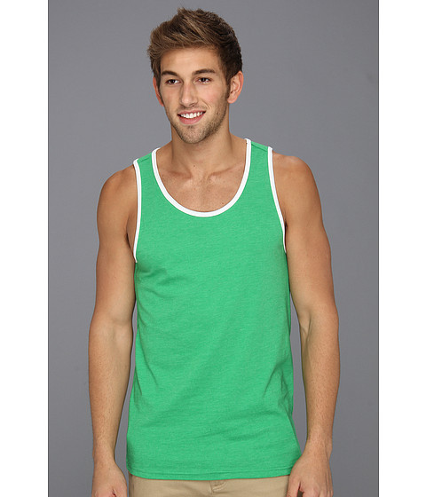Tricouri Hurley - Staple Premium Tank - Heather Island Green