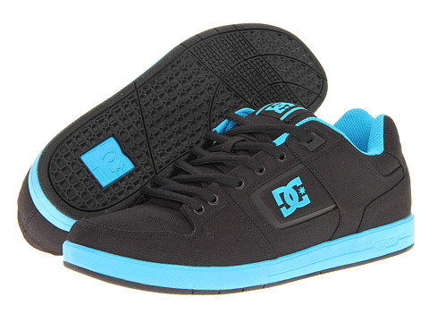Adidasi DC - Factory Lite TX - Black/Turquoise