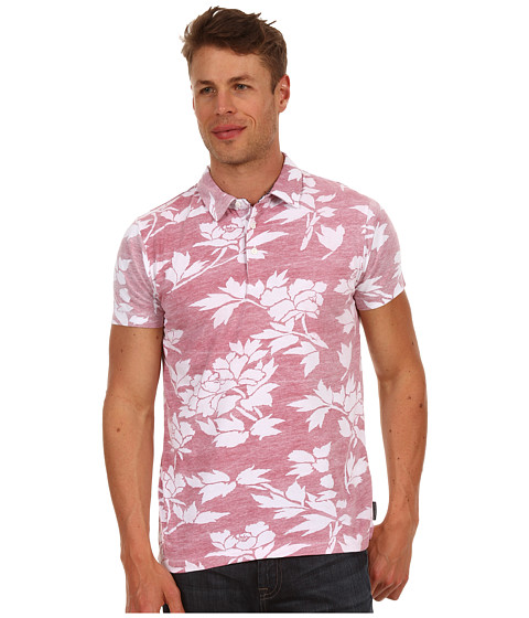 Tricouri French Connection - Paddle Puss Floral Polo - Heather