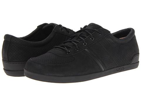 Pantofi UGG - Brook-Lin Perf - Black Leather
