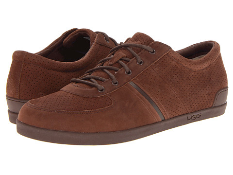 Pantofi UGG - Brook-Lin Perf - Grizzly Leather