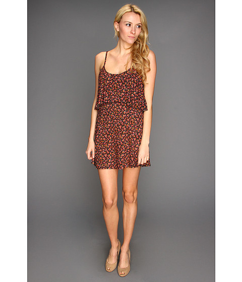 Rochii Roxy - Floral Splash Cover-up Dress - True Black