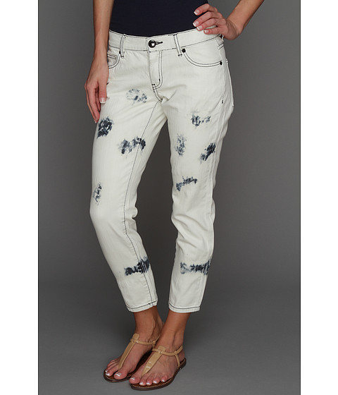 Pantaloni BCBGeneration - Cropped Skinny Jean in Stained Bleach - Denim Stained Bleach