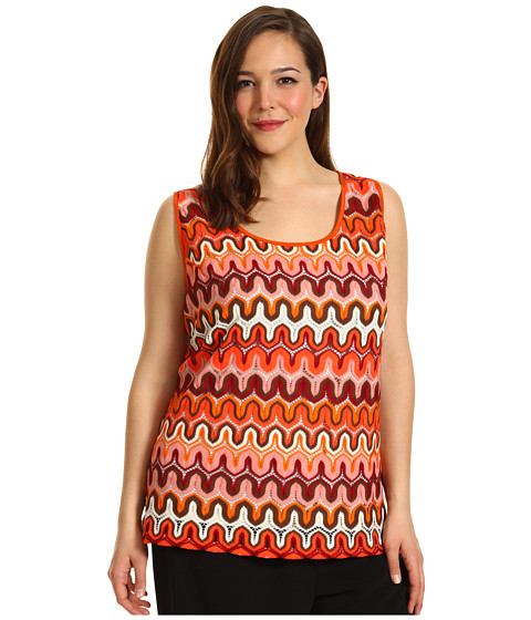 Tricouri Karen Kane - Plus Size Crochet Tank Top - Multi