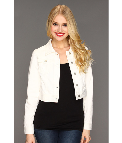 Sacouri Christin Michaels - Bria Jean Jacket - Soft White