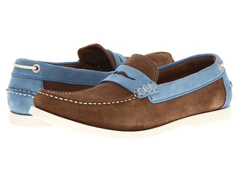 Pantofi Ted Baker - Seelo - Brown/Blue Suede