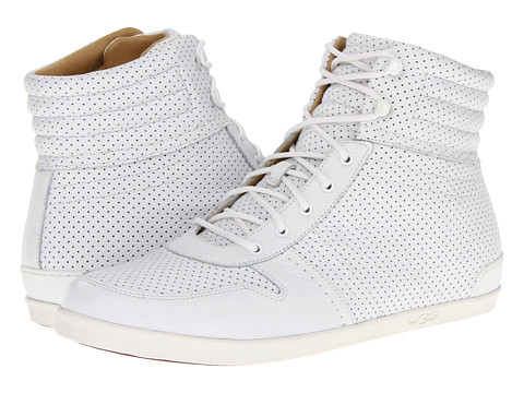 Adidasi UGG - Em-Pire Perf - White Leather