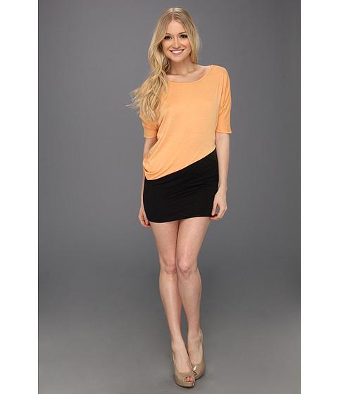 Rochii Type Z - Felicia Color Block Dress - Orange