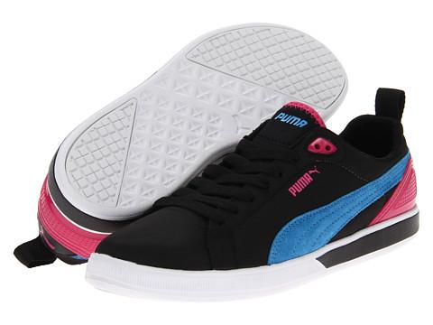 Adidasi PUMA - Future Suede Lite Wn\s - Black/Malibu Blue
